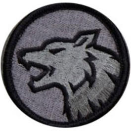 Mil-Spec Monkey Wolf Head Patch ACU-Dark