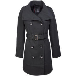 Brandit Ladies Coat Rockaway, schwarz