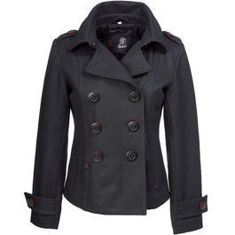 Brandit Upper East Coat, schwarz