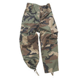 BDU Hose Kids, woodland