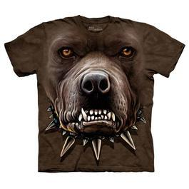 Mountain T-Shirt Angry Pitbull
