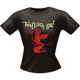 Girlie Fun Shirt Teuflisch Gut