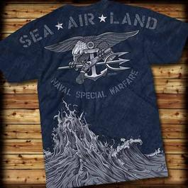 T-Shirt Navy Special 7.62