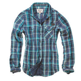 Brandit Checkshirt Kathy Navy Checkered