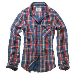 Brandit Checkshirt Kathy red blue checkered