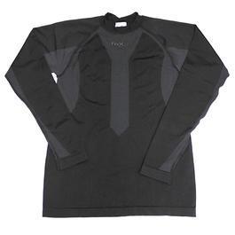 Outdoor - Fox Thermo-Sport-Funktions-Unterhemd langarm schwarz