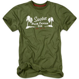 Surplus T-Shirt Palm Tee oliv