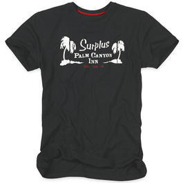 Surplus T-Shirt Palm Tee schwarz