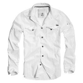 Brandit Hemd Slim Fit Shirt weiß