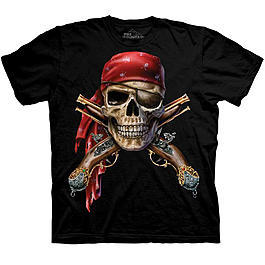 Wildlife T-Shirt Skull & Muskets