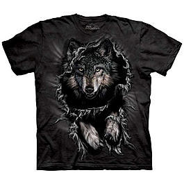 Wildlife T-Shirt Wolf Breakthrough