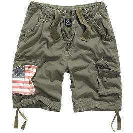 Brandit Urban Legend Shorts Stars & Stripes oliv