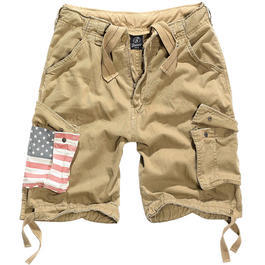Brandit Urban Legend Shorts Stars & Stripes beige
