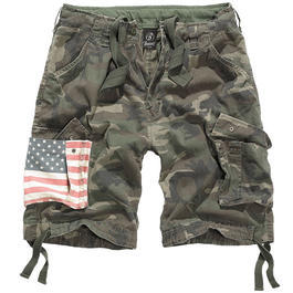 Brandit Urban Legend Shorts Stars & Stripes woodland