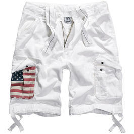 Brandit Urban Legend Shorts Stars & Stripes weiß