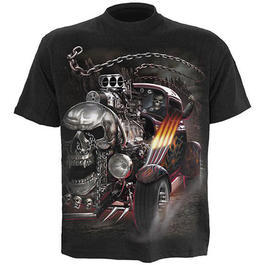 Spiral T-Shirt Death on Wheels