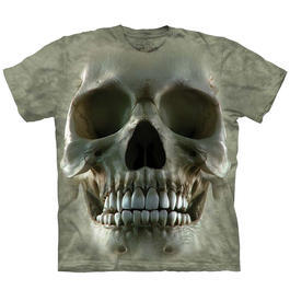 Mountain T-Shirt Big Face Skull