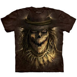 Mountain T-Shirt Scarecrow