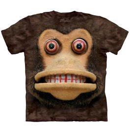 Mountain T-Shirt Cymbal Monkey
