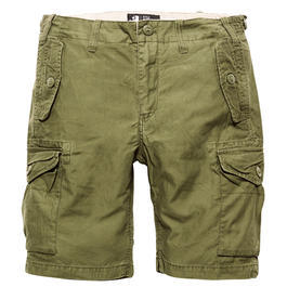 Vintage Industries Marchfield Shorts dark oliv
