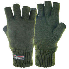 Highlander Halbfinger Handschuhe Stayner Thinsulate oliv