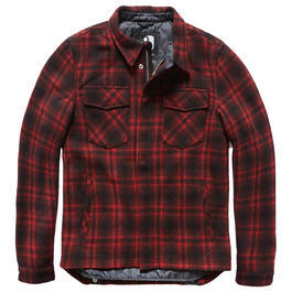Vintage Industries Jacke Class red check