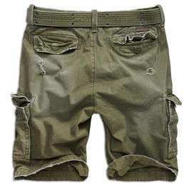 Brandit Shorts Shell Valley heavy oliv