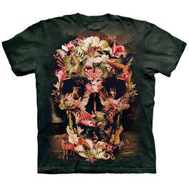 Mountain T-Shirt Jungle Skull