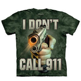 Mountain T-Shirt Call 911