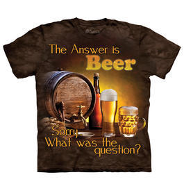 Mountain T-Shirt Beer