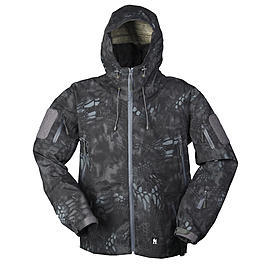 Mil-Tec Herrenjacke Hardshell Mandra Night