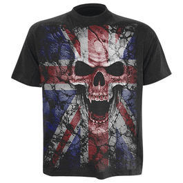 Spiral T-Shirt Union Wrath schwarz