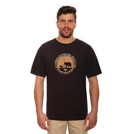 Bushman T-Shirt Bowdon dark brown