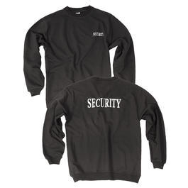 Mil-Tec Sweatshirt Security Schwarz