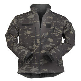Mil-Tec Softshelljacke SCU 14 Multitarn Black