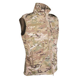 Mil-Tec Softshell Weste Multitarn