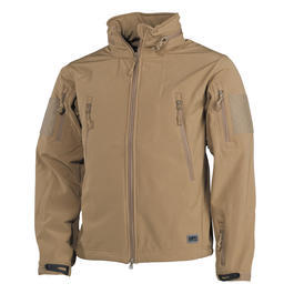 MFH Softshell Jacke Scorpion Teflon Coyote Tan