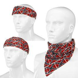 Fostex Tuch 3 in 1 Bandana rebel flag small