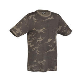 Mil-Tec T-Shirt Tarn Multitarn Black