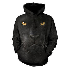 Mountain Kapuzensweatshirt Black Panther Face