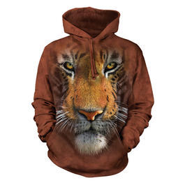 Mountain Kapuzensweatshirt Tiger Face