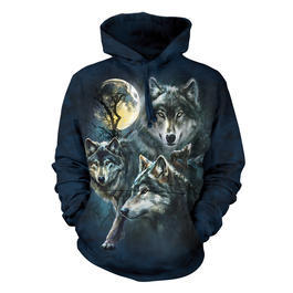 Mountain Kapuzensweatshirt Moon Wolves