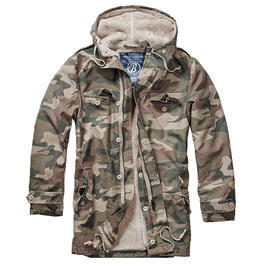 Brandit Jacke BW Parka light woodland