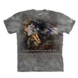 The Mountain T-Shirt Heroic Soldier Oht-Hero