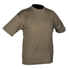 Mil-Tec T-Shirt Tactical Quick Dry oliv