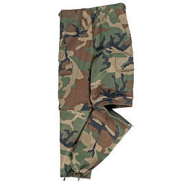 Mil-Tec US Zip-Off BDU Hose Kids woodland