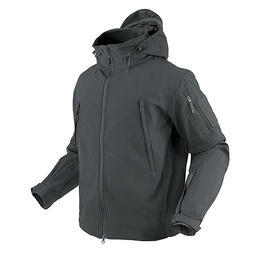 S.T. Condor Summit Softshell Outdoor Jacke Navy graphite grau