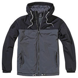 Brandit Windbreaker Harris 2-Color schwarz/anthrazit