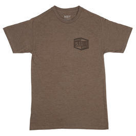 5.11 T-Shirt Purpose Built Tee brown heather