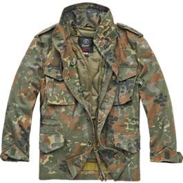 Brandit Kinder M65 Jacke Standard flecktarn